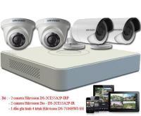 Gói 4 camera cho hộ gia đình